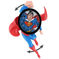 Superman 3D Motion Clock