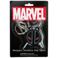 Deadpool Logo Bendable Key Chain