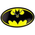 Batman Logo Wobble Clock