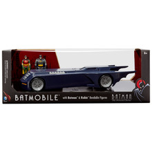 BTAS Batmobile with Bendable Figures - box front view