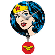 Wonder Woman Mini Wall Clock