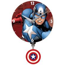 Captain America Mini Wall Clock