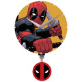 Deadpool Mini Wall Clock