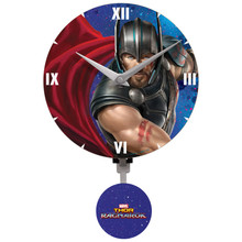Thor Ragnarok Mini Wall Clock