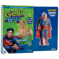 Superman Kryptonite Green Gelli Baff with Bendable Figure