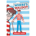 "Where's Waldo? 5.5"" Bendable Figure"