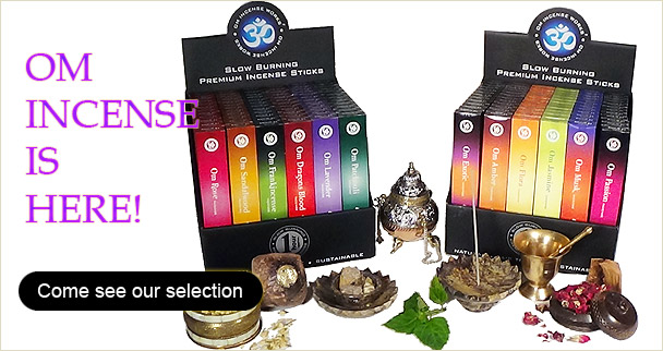 Om Incense is here!