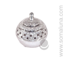 Silver Stars Charcoal Incense Burner