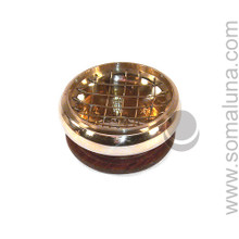 Brass Incense Burner with Screen
