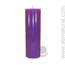 Royal Purple 9.5 x 3 Pillar Candle