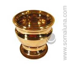 Brass Screen Incense Burner