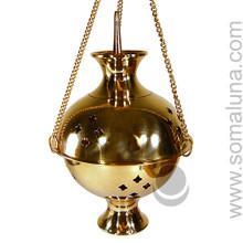 Brass Hanging Burner, 9 inch