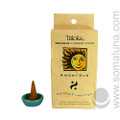 Triloka Natural Herbal Incense Cones, Amber Sun