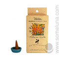 Triloka Natural Herbal Incense Cones, Tangerine Scream