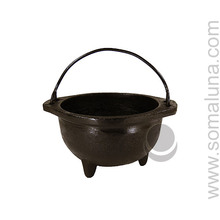 Cast Iron Cauldron, 6 inch