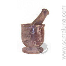 Soapstone Mortar & Pestle, small