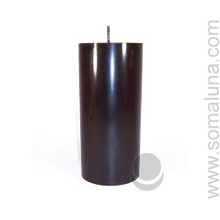 Abyss Black 6.5 x 3 Pillar Candle