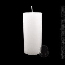 Angel White 6.5 x 3 Pillar Candle