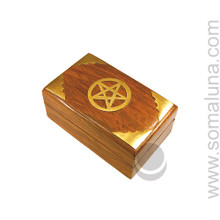 Brass Pentagram Box, Small