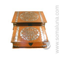 Large Antiqued Celtic Box Set