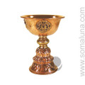 Tibetan Copper Butter Lamp, small