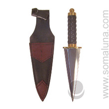 Roman Athame with Black Pommel