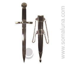 Black and Silver Dagger