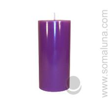 Royal Purple 6.5 x 3 Pillar Candle