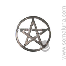 Silver Altar Pentacle, small