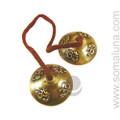 Small Om Tibetan Cymbals (Tingsha)