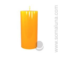 Honey Amber 6.5 x 3 Pillar Candle