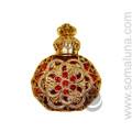 Rosey Amber Perfume Bottle