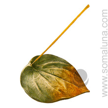 Large Leaf Incense Burner