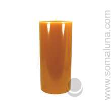 Antique Gold 6.5 x 3 Pillar Candle