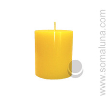 Summer Yellow 3.5 x 3 Pillar Candle