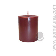 Black Cherry 3.5 x 3 Pillar Candle