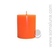 Mandarin Orange 3.5 x 3 Pillar Candle