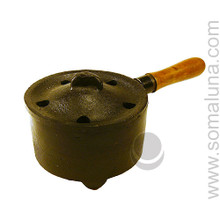 Cast Iron Cauldron with Handle