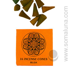 Yoga Cone Incense 16 - Musk