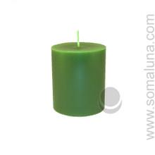 Tropical Green 3.5 x 3 Pillar Candle