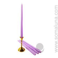 Lavender 12 inch Taper Candle