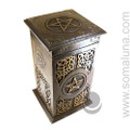 Golden Pentacle Herb Chest