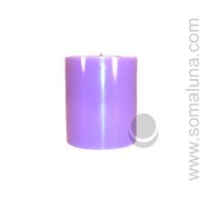 Lush Lavender 3.5 x 3 Pillar Candle