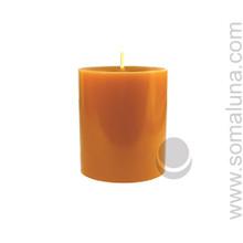 Antique Gold 3.5 x 3 Pillar Candle