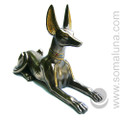 Anubis Lying Statue, large bronze