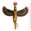 Winged Isis Plaque