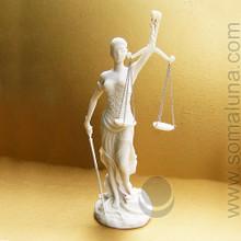 "Justicia Statue (Dike, Lady Justice) 12"""