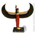 Winged Maat Statue