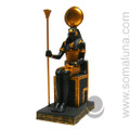 Horus Enthroned Statue