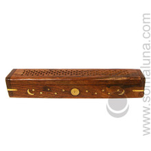 Celestial Filigree Box Stick Incense Burner